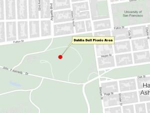 Dahlia Dell Map
